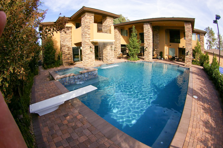 vegas home pool