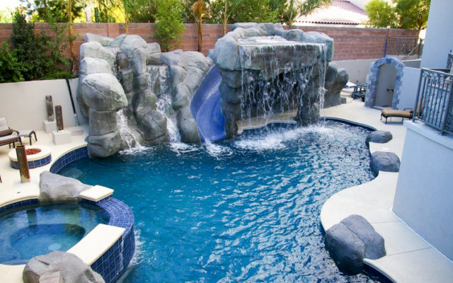 Vegas custom pool showcase | Welcome to Everclear Pools