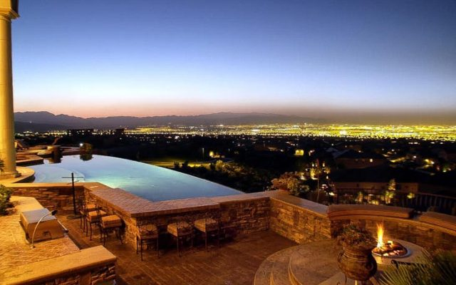 luxury residential las vegas pools